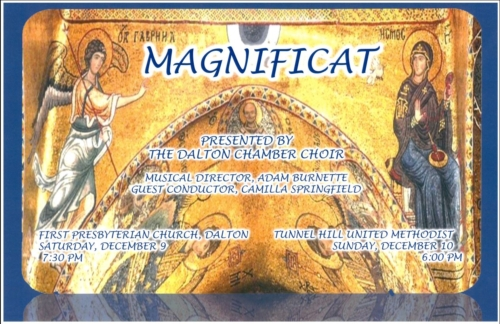 "Dalton Chamber Choir Presents ""Magnificat"""