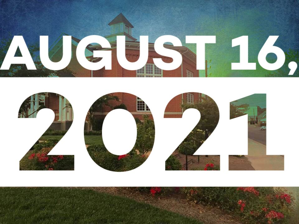 A Letter to the Congregation – August 16, 2021